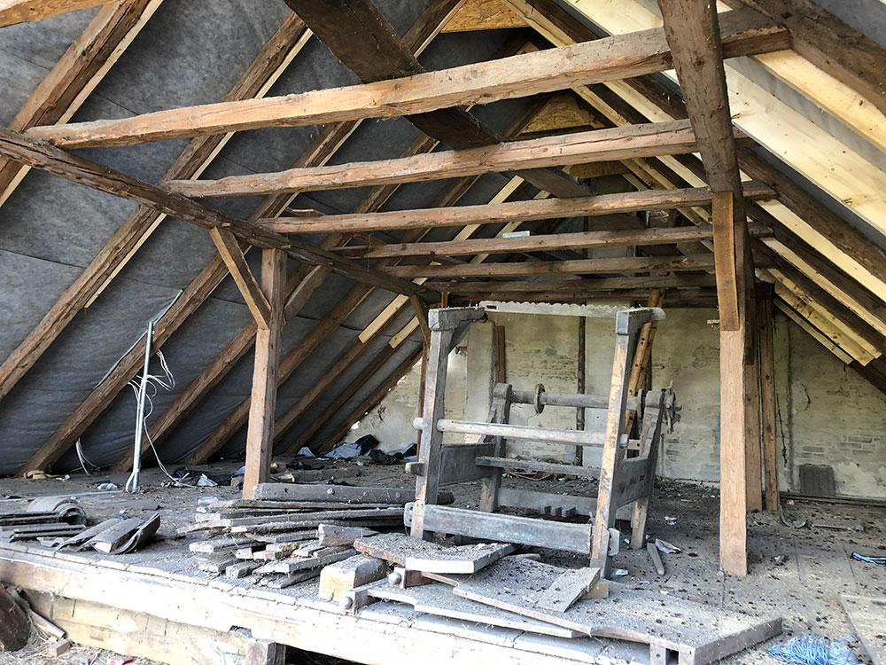 Holzschutz Dachstuhl